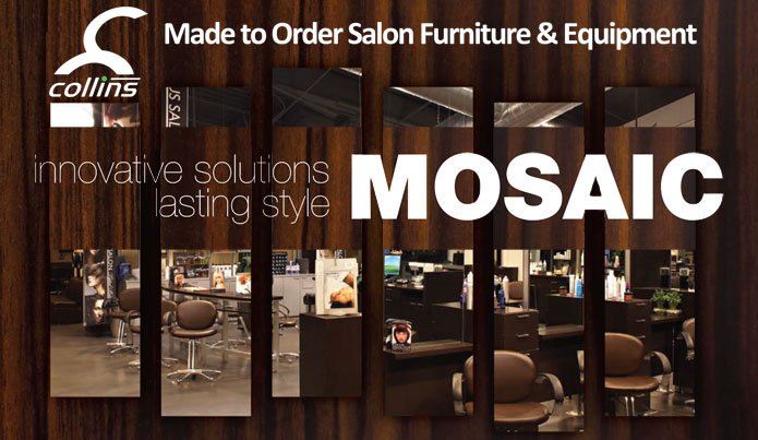 Collins Manufacturing MOSAIC - Made to Order Salon Furniture & Equipment