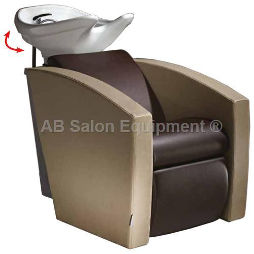 Salon Ambience WU/110/B Mirage Shampoo Unit w/ Legrest - White Bowl