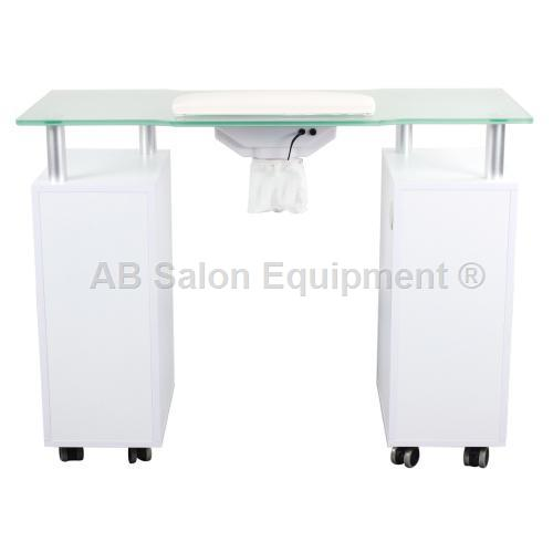AB Atmosphere Glasglow Manicure Table w/ Fan