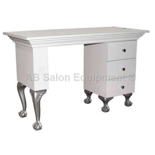 Collins 886-48-4 Bradford Dentil Nail Table w/ Claw & Ball Legs