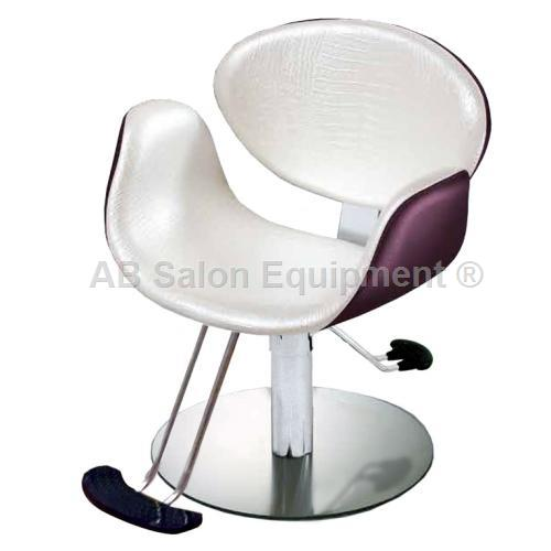 Salon Ambience SH/430-4/R Amber Styling Chair - Round Base
