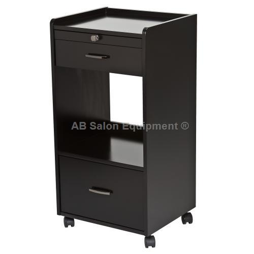 Earthlite element trolley white or black for Ab salon equipment